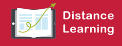 Distance Learning Icon