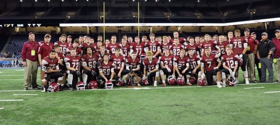2018 Division 5 State Finalist at Ford Field