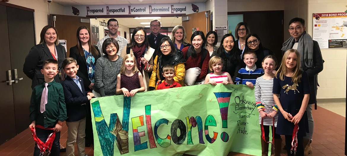 Welcome Grace Orchard School from Singapore!